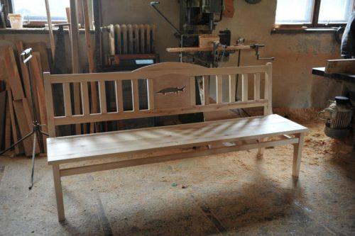 ławka drewniana józefów