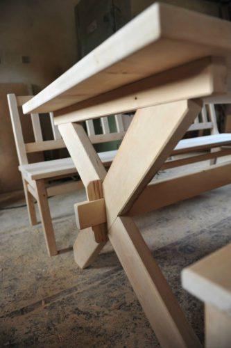 stół brzozowy józefów